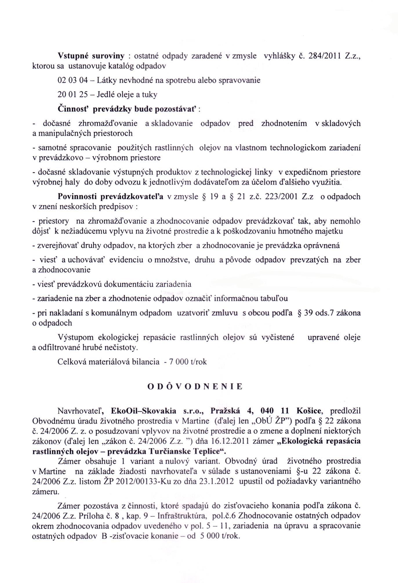 Rozhodnutie EIA 2 strana